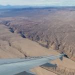 Désert d'Atacama vu du ciel