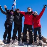 Au sommet du Cerro Toco