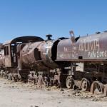 Cimetière de train à Uyuni
