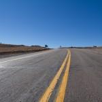 Route vers l'altiplano